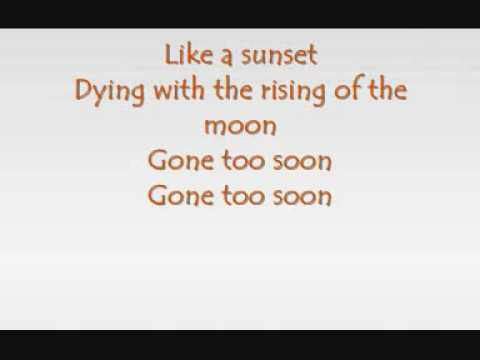 Michael Jackson - Gone too soon (with lyrics)