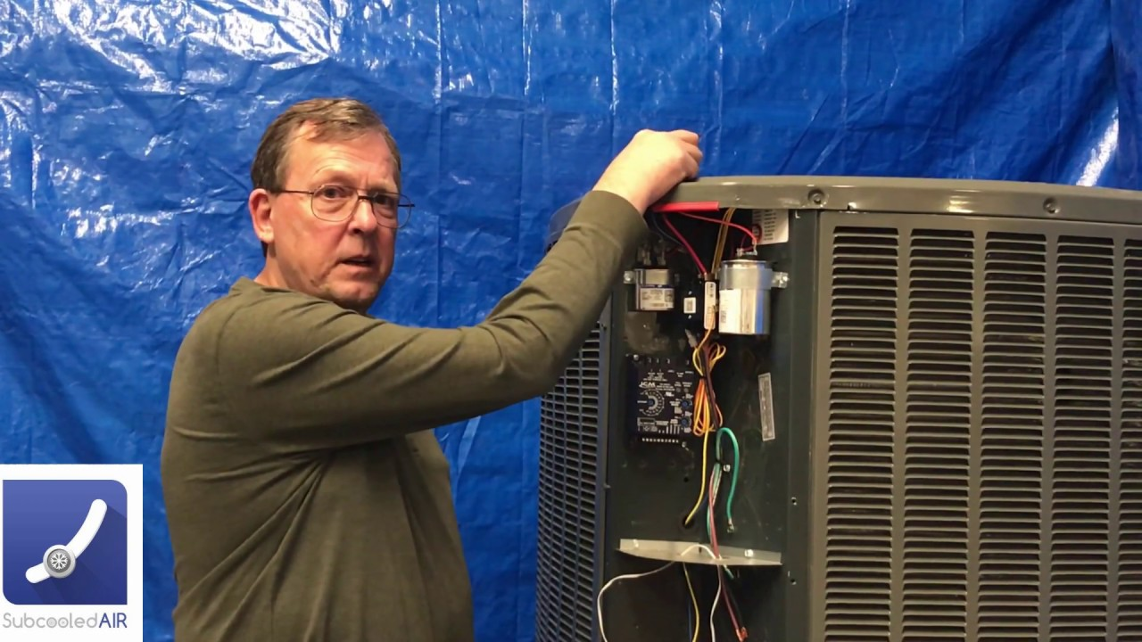 how to install a condenser head pressure controller for low ambient  temperature