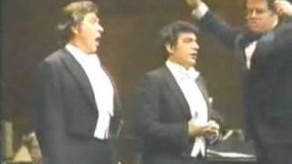 Placido Domingo & Sherrill Milnes sing La Boheme duet