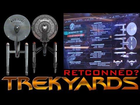 ST: Disc Enterprise S2 Refit to Retcon Design Details?? - Detailed Breakdown