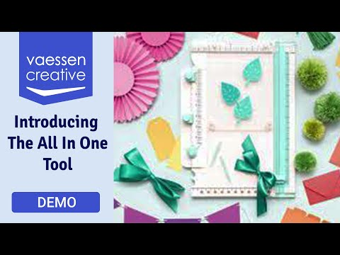 Introducing The All In One Tool (We R Memory Keepers) | 🎀
