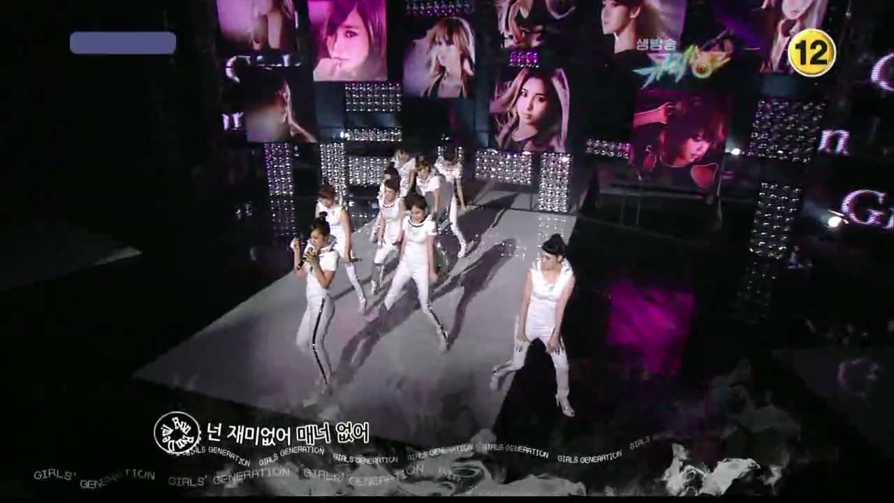 SNSD - Run Devil Run ComeBack Stage ( Mar,19,10 ) #1