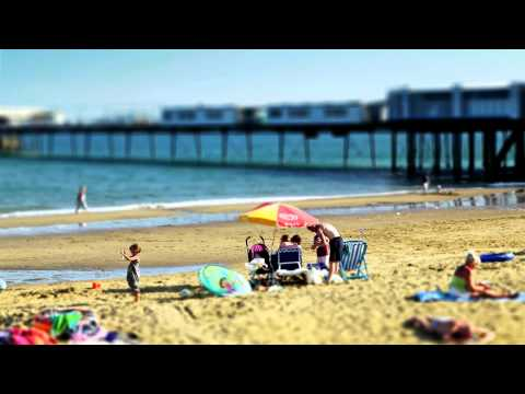 The Isle Of Wight - A Day In The Life Pt 1: Sandown Bay Timelapse