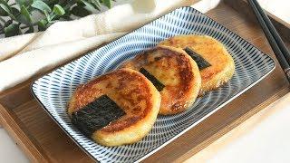 간단한 간식만들기 / 감자요리 이모모찌 만드는 법/ 일…
