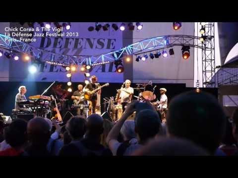 Chick Corea & The Vigil, La Défense Jazz Festival, Paris 2013