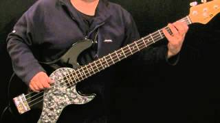 How To Play Bass To Staying Alive - The Bee Gees