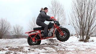 АРХАР - полноприводный мотоцикл для тяжелых условий севера(Спонсор выпуска: http://yulsun.ru - запчасти для иномарок с доставкой по всей России. Vilar (производители Архара):..., 2016-12-07T04:00:00.000Z)