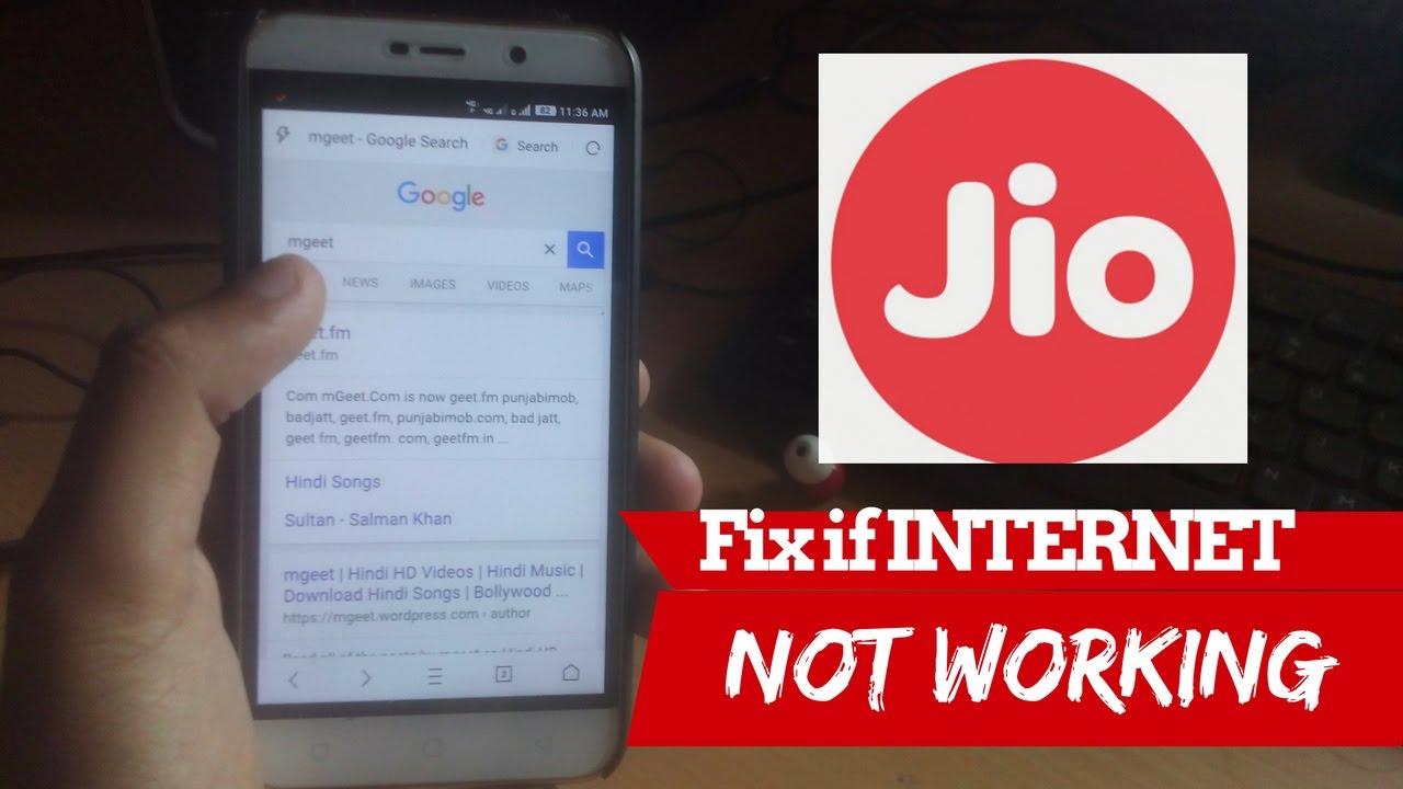 INCREASE Jio INTERNET Speed Or Fix if JIO Internet NOT WORKING