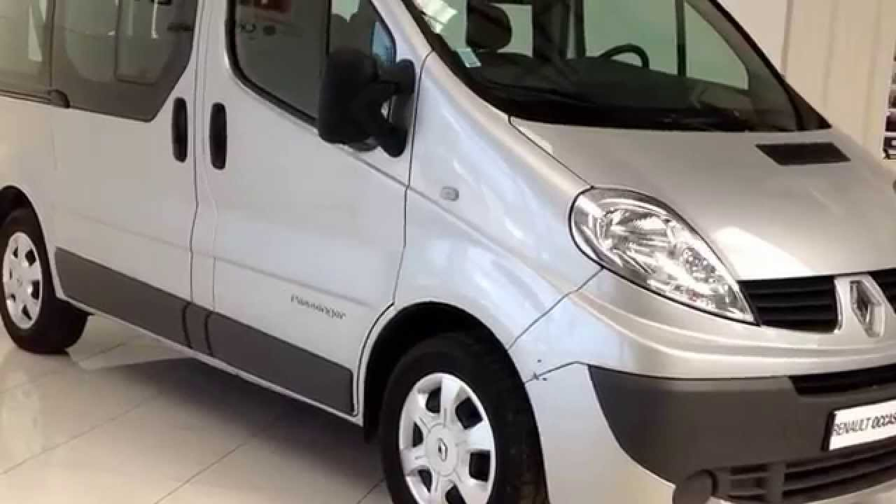 renault morlaix trafic passenger 9 places 2 0 dci 115 gris clair youtube. Black Bedroom Furniture Sets. Home Design Ideas