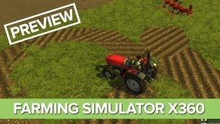 Farming Simulator Xbox 360 Gameplay Preview - Farming Simulator 2013 on Consoles
