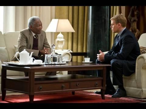 Invictus - Matt Damon and Morgan Freeman on Monday Night Conversation