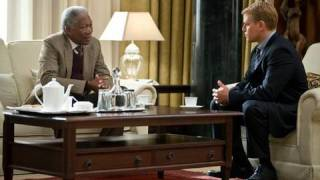 Invictus - Matt Damon and Morgan Freeman on Monday Night Conversation