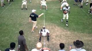 ERHS 2011 Spring Season football 3 on 3 drill