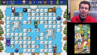 SUPER BOMBERMAN 5 GOLD (SNES / SFC) | Domingos con Slobulus 53 | Gameplay en Español
