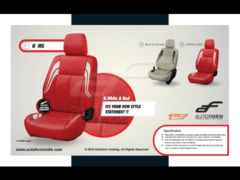 Car Seat Covers Designs Latest Autoform Leather Car Seat Covers
