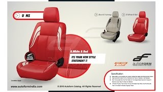 Car Seat Covers Designs | Latest Autoform Leather Car Seat Covers