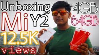 Mi Xiaomi Redmi Y2 with Dual Camera 4GB 64GB Unboxing (Ankit Guruji) #69