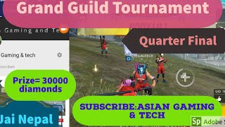 [Live][NEPAL  Grand Tournament organized by freefire Nepal and o crew]
