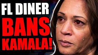 "Kamala HUMILIATED By Latino Restaurant Owner In Florida! Tells Her She Is ""NOT WELCOME"" In FL Diner."