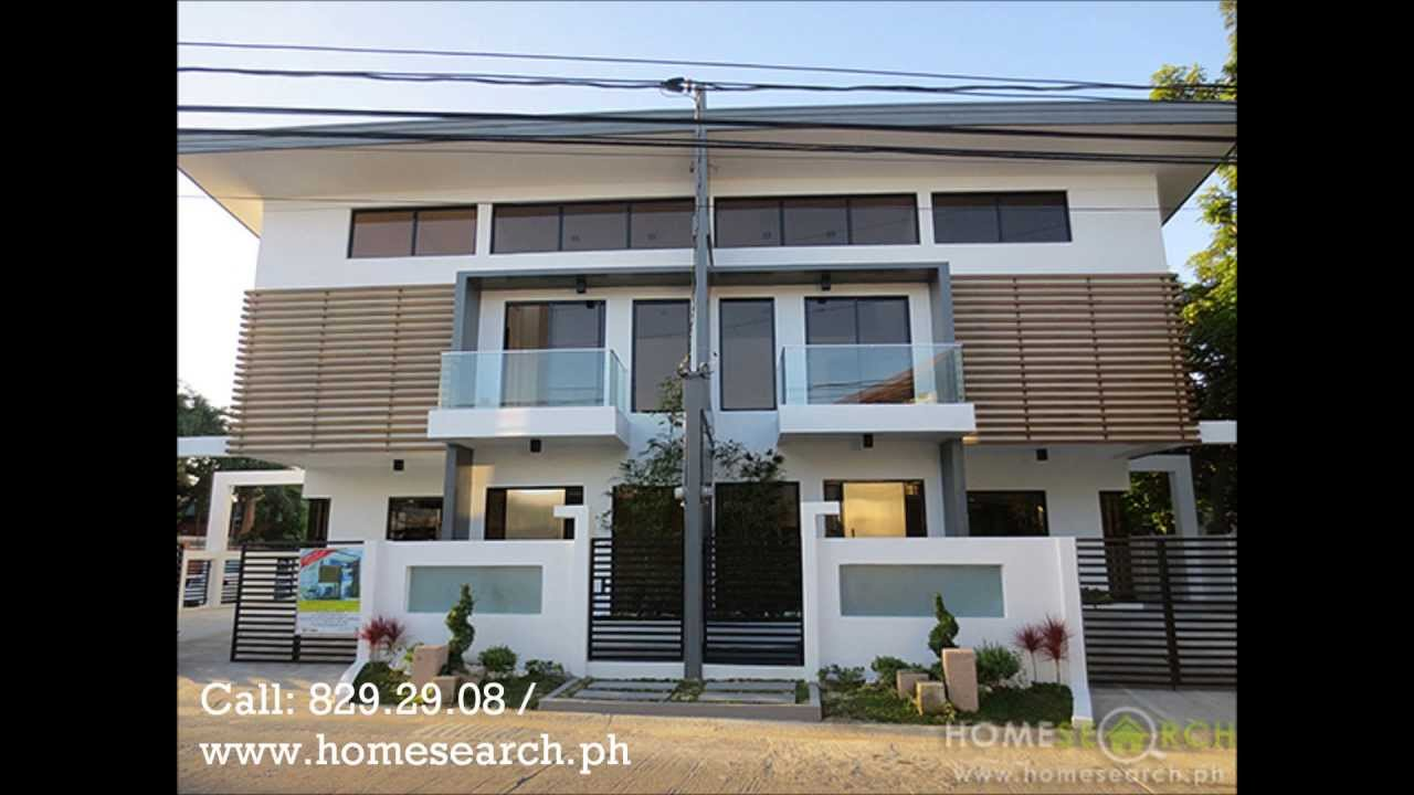 Modern design duplex for sale php8 5m youtube for House design for small houses philippines