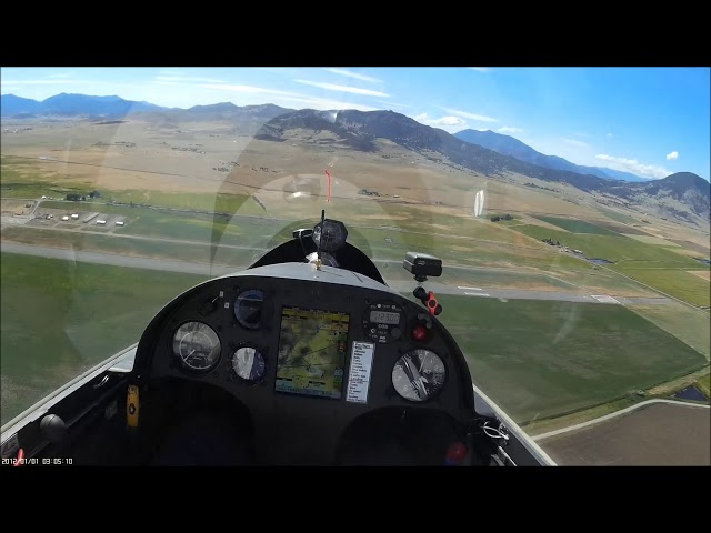 wind 90 to runway crazy Landing mosquito 303 glider on taxiway
