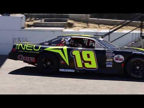 NEU - Racecar Driver Travis Milburn - Pacific Challenge Series