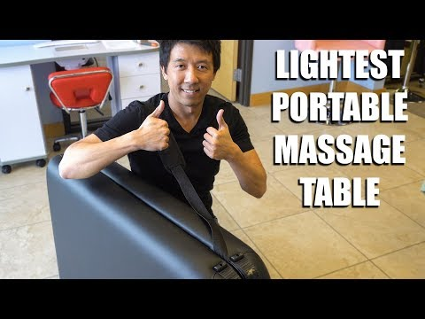 LIGHTEST PORTABLE MASSAGE TABLE | FRANCIS ALUMINIUM