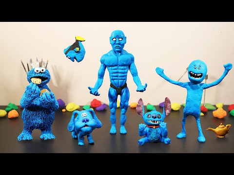 The Blue Claymation (a Stop Motion animation)