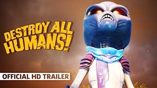 Destroy All Humans! - Official Turnipseed Farm Gameplay Trailer