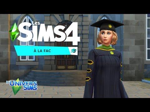 LES SIMS 4 À LA FAC ! - Aperçu du gameplay !