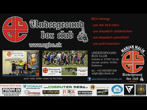 POPCORNMAN trénuje #BOX ::: 10 ::: Underground box club Bratislava :::: tréner Marian Malík