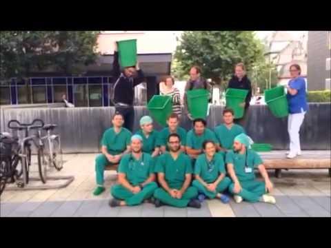 Ice bucket Uniklinik Frankfurt Anästhesie