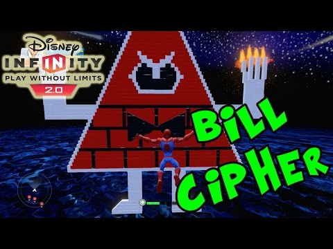 Disney Infinity 2.0 Toy Box Bill Cipher (Angry Bill Sends Waves Of Enemies)