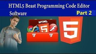 Beast Programming Code Editor Software HTML tutorial part 2 in Hindi