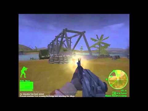 Delta Force: Black Hawk Down Mission 1 (With Cheats)