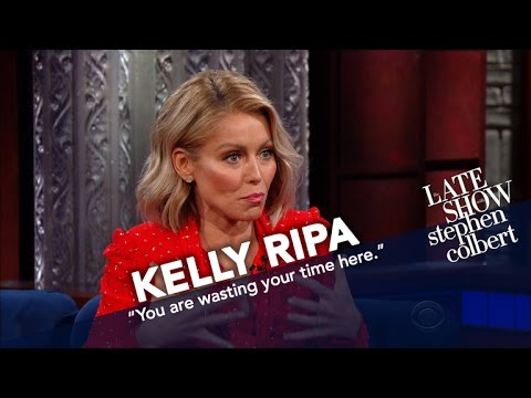 Kelly Ripa Got A Note From Her Son's Teacher And It's Stephen's Fault