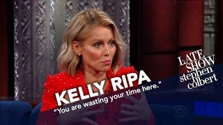 Kelly Ripa Got A Note From Her Son
