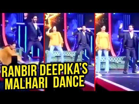 Deepika Padukone And Ranbir Kapoor Dancing On Ranveer Singh's Malhari Song Bajirao Mastani