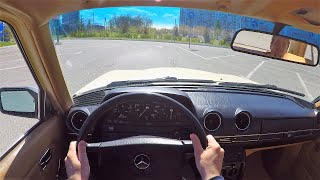 1984 Mercedes-Benz W123 - POV Test Drive