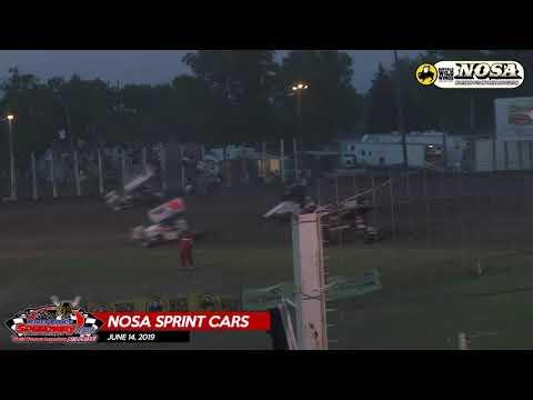6/14/19 NOSA Sprint Cars - River Cities Speedway