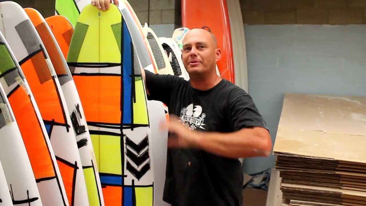 Joel Parkinson Surfboard