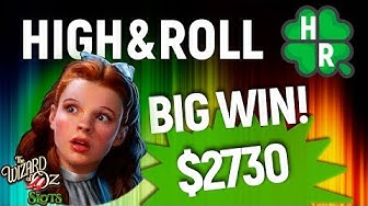 Wizard of Oz Slot Machine Online (WMS) Free Bonus Game (Play For Real)