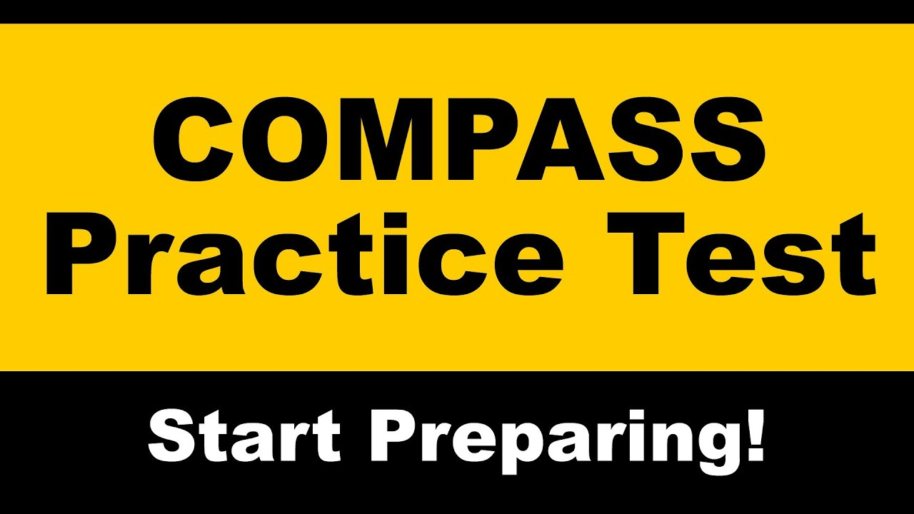 COMPASS Practice Test - Free COMPASS Math Prep - YouTube