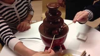 家庭用チョコレートファウンテン