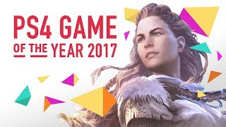 Horizon Zero Dawn is the Best PS4 Game of 2017
