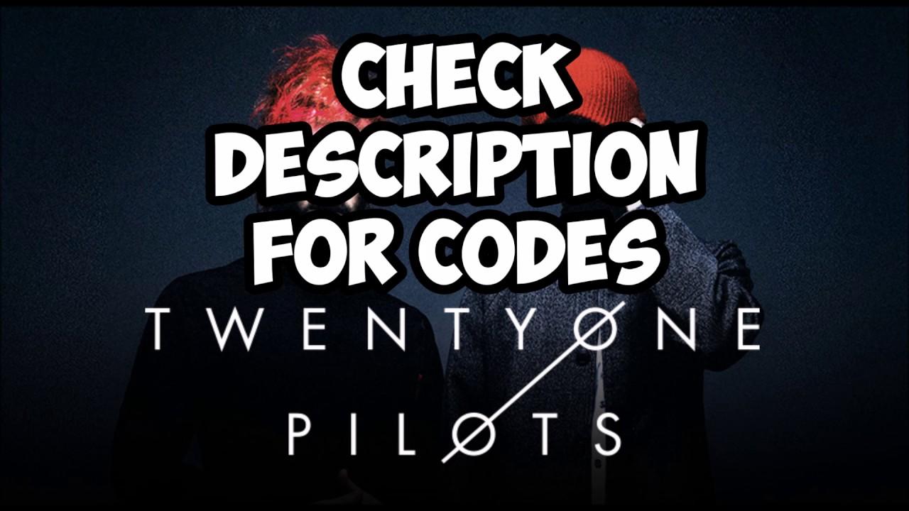 Roblox Radio Codes Twenty One Pilots Edition Youtube