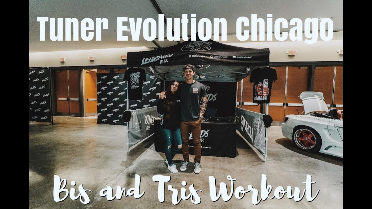 Tuner Evolution Chicago | Bis and Tris Baby!