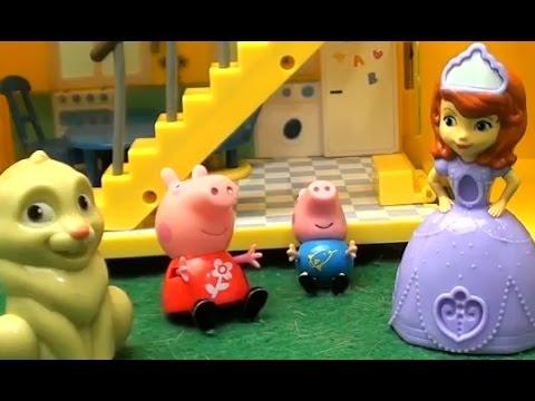 Мультфильм Peppa Pig Свинка Пеппа София Прекрасная