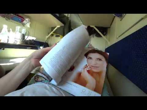 Поезд № 104В «Адлер – Москва (двухэтажный)» /Еду в Сочи/Питание и услуги от РЖД(перезалив видео)