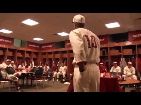 Indiana Baseball – Postgame Locker Room – April 18th